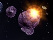 Asteroids WebGL Game